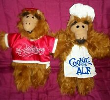 Vintage ALF Orbiters Chef Hand Puppets Brown Shaggy 11in Plush 1988 Burger King