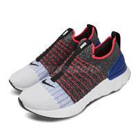 Nike React Phantom Run FK 2 Flyknit Grey Black Red Blue Men Slip On CJ0277-002
