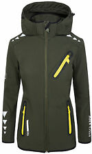 Rock Creek Damen Softshell Jacke Übergangs Jacke Windbreaker Regenjacke RC-10