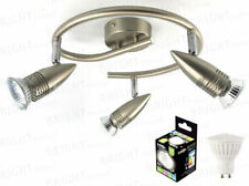Spiral LED Chrome Ceiling Lights & Chandeliers