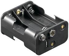 Batteriehalter 6 x Mignon AA mit Druckknopfanschluß (3/3)