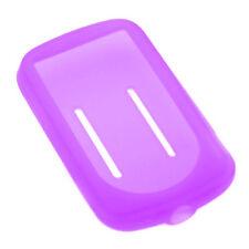 Violet Silicone pour Sansa Fuze Plus + Case MP3 fusible + Housse Support
