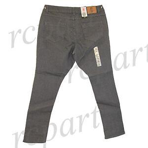 New Jeans Colony Women's Casual basic Skinny Jeans Dark Gray 14 16 18 20 22