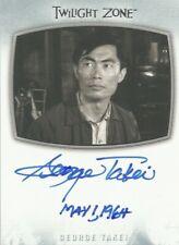 "Twilight Zone Archives 2020: AI-21 George Takei ""Arthur"" Autograph Card (a)"