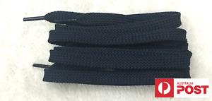 FLAT SHOE LACES approx 120cm - Navy Blue