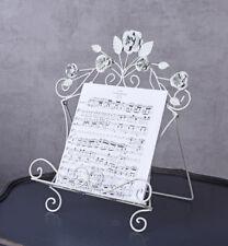 Soporte de música PARTITURA Libro rezeptständer CASA CAMPO Buchstütze blanco