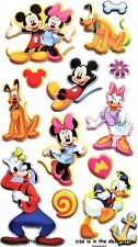 EK SUCCESS JOLEE'S BOUTIQUE DISNEY 3-D VINYL STICKERS - MICKEY & FRIENDS