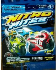 New ListingNew Nitro Mites Bikes Motorcycles Series 1 Hammer Down Colors Styles Lot of 10