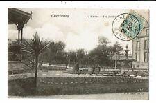 CPA-Carte Postale-FRANCE-Cherbourg- Le Casino -Les Jardins en 1905 VM13960