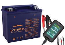 VMAX XCA160R12 ATV+1.5A CHARGER BATTERY UPGRADE HONDA TRX250 Recon ES TE 97-03