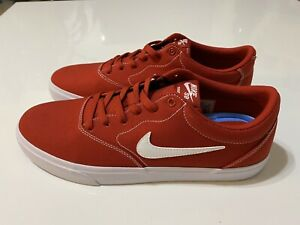 Size 12 Men's New Nike SB Charge Canvas Mystic Red CD6279-601