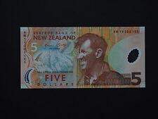 WORLD NEW ZEALAND SUPERB $5 POLYMER 2014 EDMUND HILLARY NOTE  * MINT UNC *