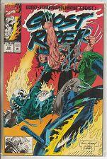 Marvel Comics Ghost Rider Vol 2 #29 September 1992 Wolverine NM