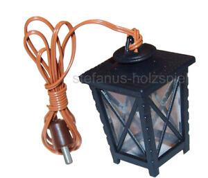 Laterne mit LED, Krippenlaterne 3,5V Krippenbeleuchtung, Krippe Kahlert 29681 kl