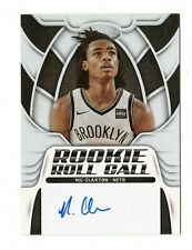 NIC CLAXTON NBA 2019-20 CERTIFIED ROOKIE ROLL CALL AUTOGRAPHS (BROOKLYN NETS)