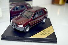 Vitesse 1:43 98007 Mercedes Benz M-Klasse, Metallic Red, 1998