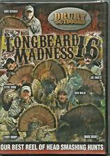 Longbeard Madness 16 Turkey Hunting DVD NEW