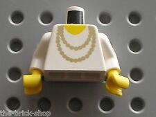 Buste LEGO train Minifig Torso w necklace 973p72 / Set 4535 4558 7824 10001 383