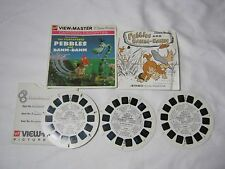 THE FLINTSTONES PEBBLES AND BAMM BAMM VIEW MASTER  3 REEL PACKET       T*