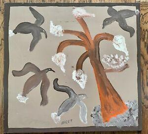 Mose T Mose Tolliver Cotton Birds