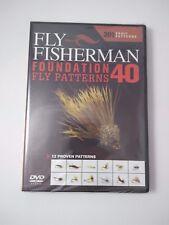 Fly Fisherman 40 Foundation Fly Patterns DVD New 201