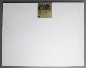 Ilford Galerie Fotopapier Fliesspapier 25 Blatt 44,5 x 57,00 Photographic Paper