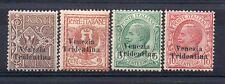 1918 TRENTINO TERRE REDENTE 4 VALORI NUOVI MNH+MLH D/1130