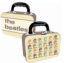 THE BEATLES HARD DAYS NIGHT VINTAGE STYLE METAL LUNCH BOX TOTE TIN CASE NEW