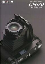 Used Fuji Fujifilm GF670 Brochure - Japanese 2010 h