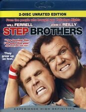 Step Brothers [WS] [Unrated/Rated] [2 Discs] (2009, Blu-ray NEUF) BLU (RÉGION A)