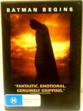 Batman Begins R4 DVD