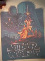 STAR WARS 1970's VINTAGE AMERICANA IRON ON TRANSFER -NICE, B-3