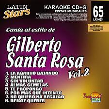 Karaoke Latin Stars 65 Gilberto Santa Rosa Vol. 2