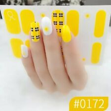 Nail Art Stickers All 6pcs only 0.99$ Wrap Glitter Tips New Manicure Design toes