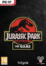 Jurassic Park: The Game (PC DVD) BRAND NEW SEALED