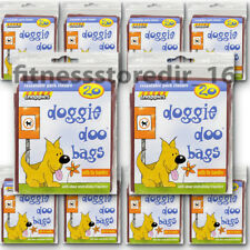 Snappies Dog Doggie Doo Bags Odour Neutralising Fragrance x200 Waste Pet Poo Bag