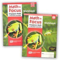 Grade 2 Math in Focus Student Workbook Set 2A & 2B Singapore Approach