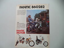 advertising Pubblicità 1974 FANTIC LEI 50/SUPER ROCKET/TI/CHOPPER