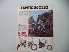 advertising Pubblicità 1974 FANTIC LEI 50/SUPER ROCKET/TI/CHOPPER