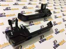 Front Door Handle Pair in GLOSS BLACK for Land Rover Defender 90 upto 01