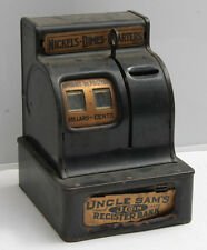 Uncle Sam's Register Bank by Durable Toy & Novelty - PARTS VINTAGE C12B