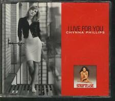 CHYNNA PHILLIPS I Live For You 3 TR SOUNDTRACK CD SI STRIPTEASE WILSON PHILLIPS