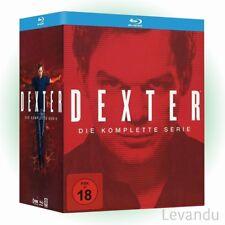 Blu-ray Box DEXTER - DIE KOMPLETTE SERIE (Staffel 1-8) - 35 Disc's NEU