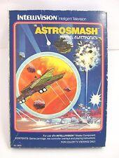 INTELLIVISION RETROGAME ASTROMASH MATTEL 1981 VIDEOGIOCO FUNZIONANTE COMPLETO