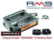 """0120 - Coppia Pedali """"XERAMA"""" in Resina Neri per Bici 20-24-26 Tipo Pieghevole"""