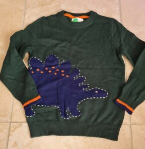 Mini Boden boys wool blend Applique jumper Size 8-9 years Brand new