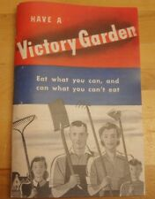 International Harvester Farmall How to Grow & Have a Victory Garden Booklet Ih