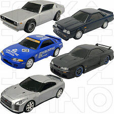 NISSAN RACING SPIRIT COLLECTION COMPLETE 5 UCC 1:64 GT-R R31 R32 R35 no kyosho