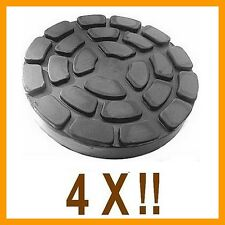 4 X bloc de caoutchouc D. 150 mm. pour Pont elevateur Ravaglioli -Italie-tampons