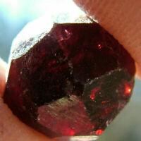 1pc Natürliche rote Granat Kristall Edelstein Rohstein Mineral Probe